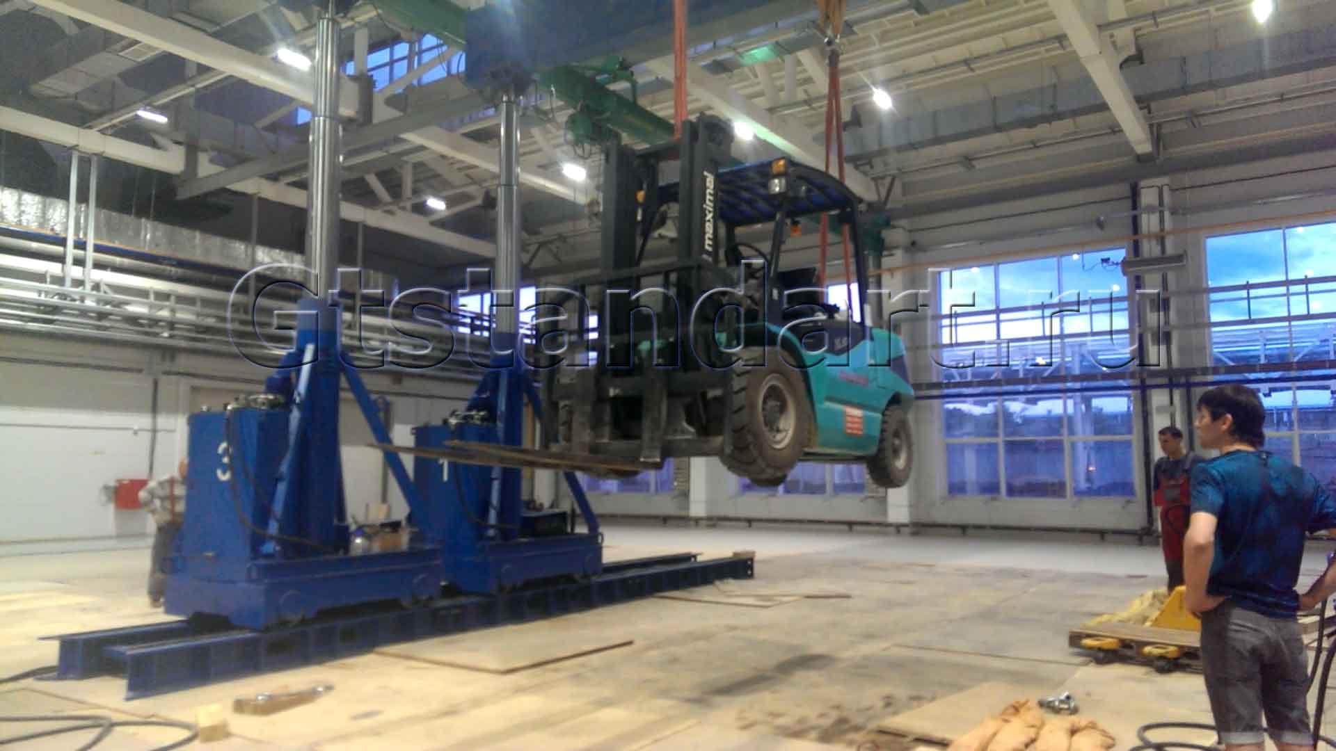 Портальные гидравлические системы на 100 тонн