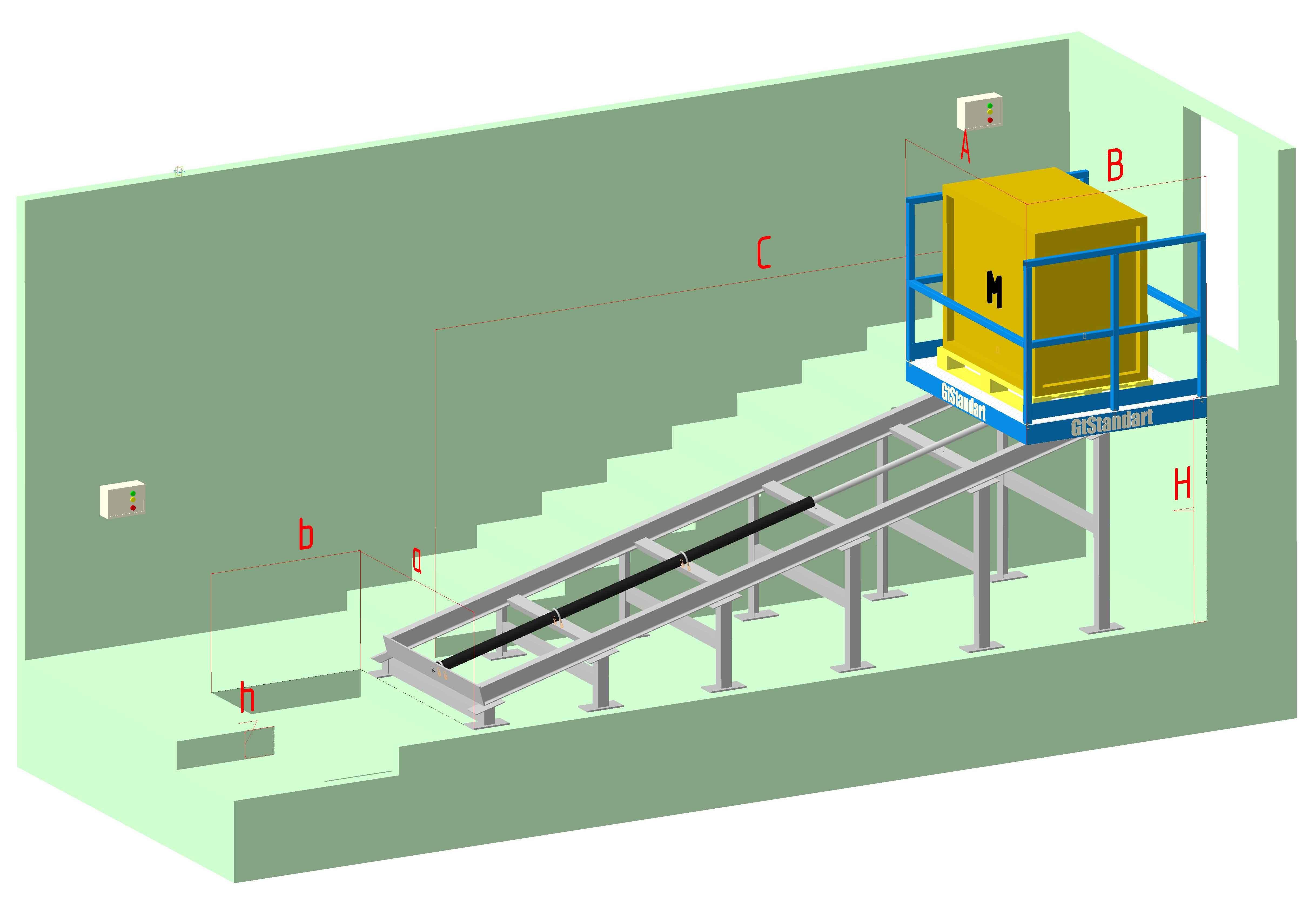 Лестничный подъёмник