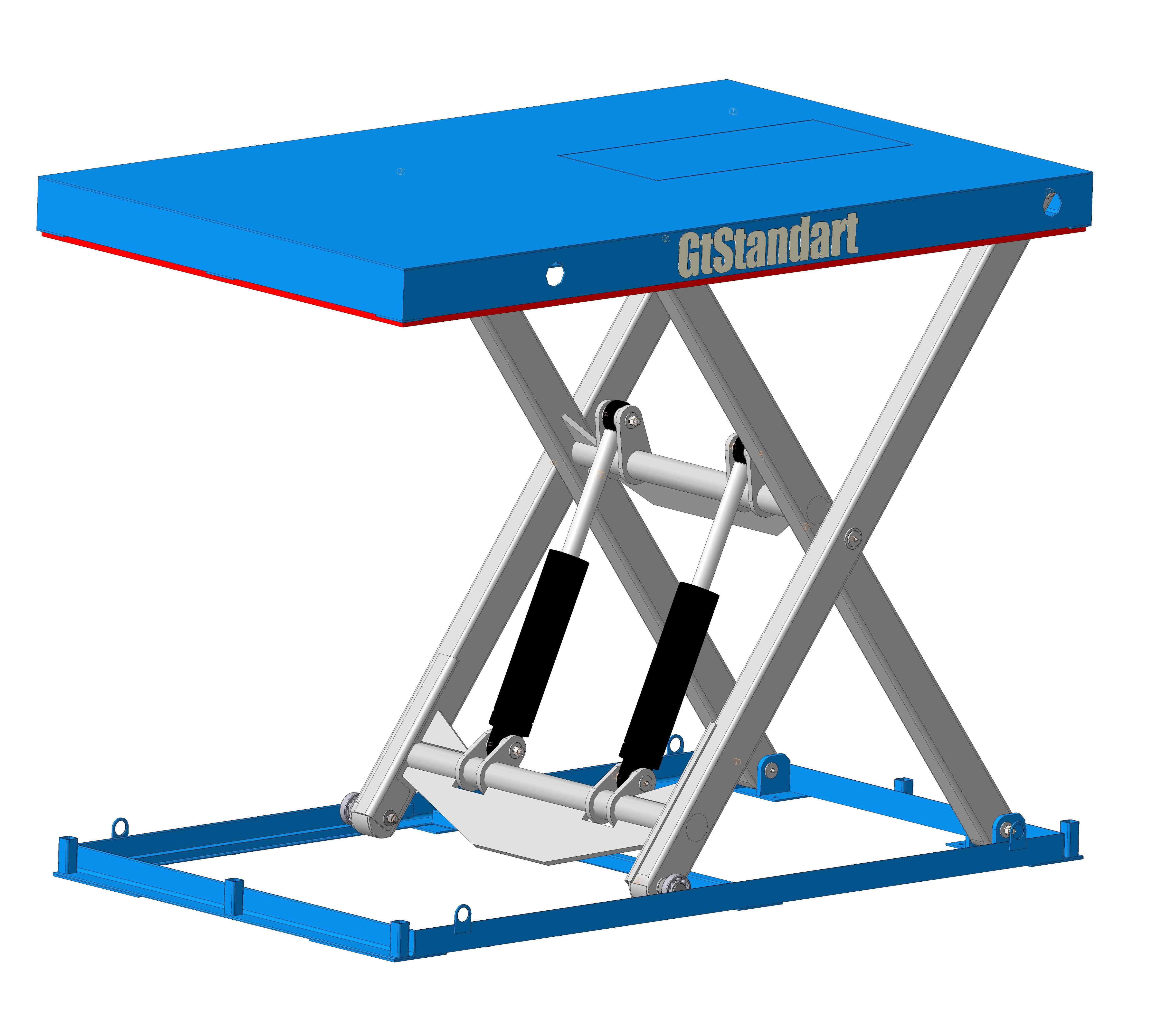 Ножничный подъёмный стол