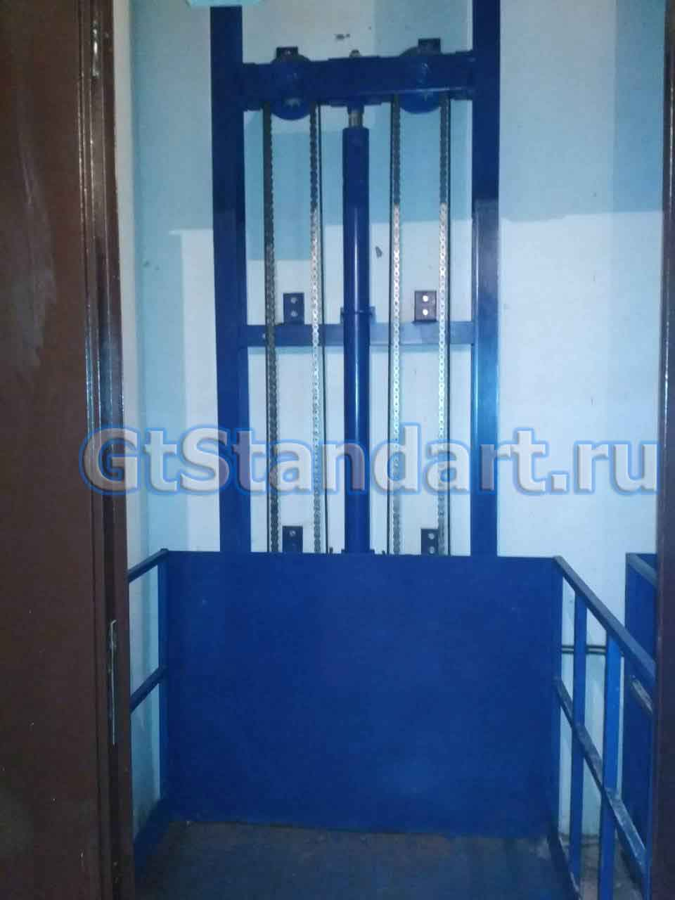 грузовой лифт для склада