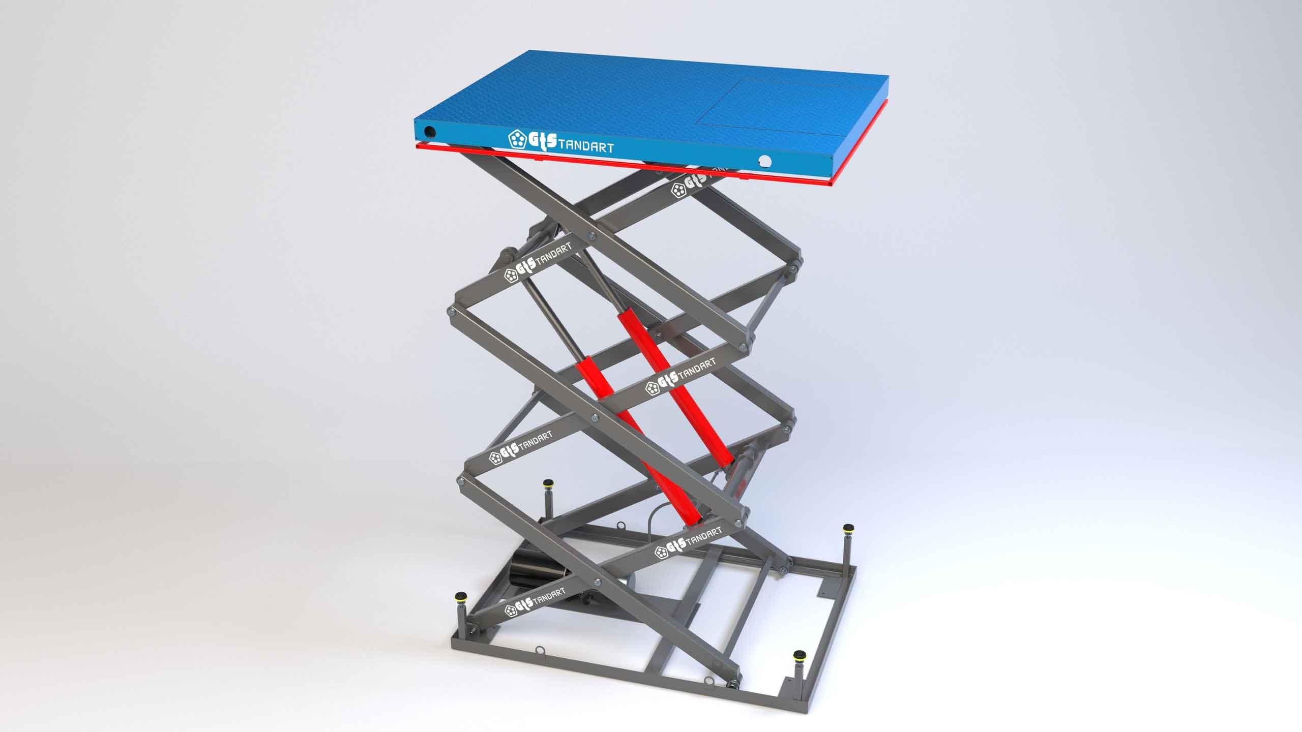 Гидравлическая подъёмная платформа