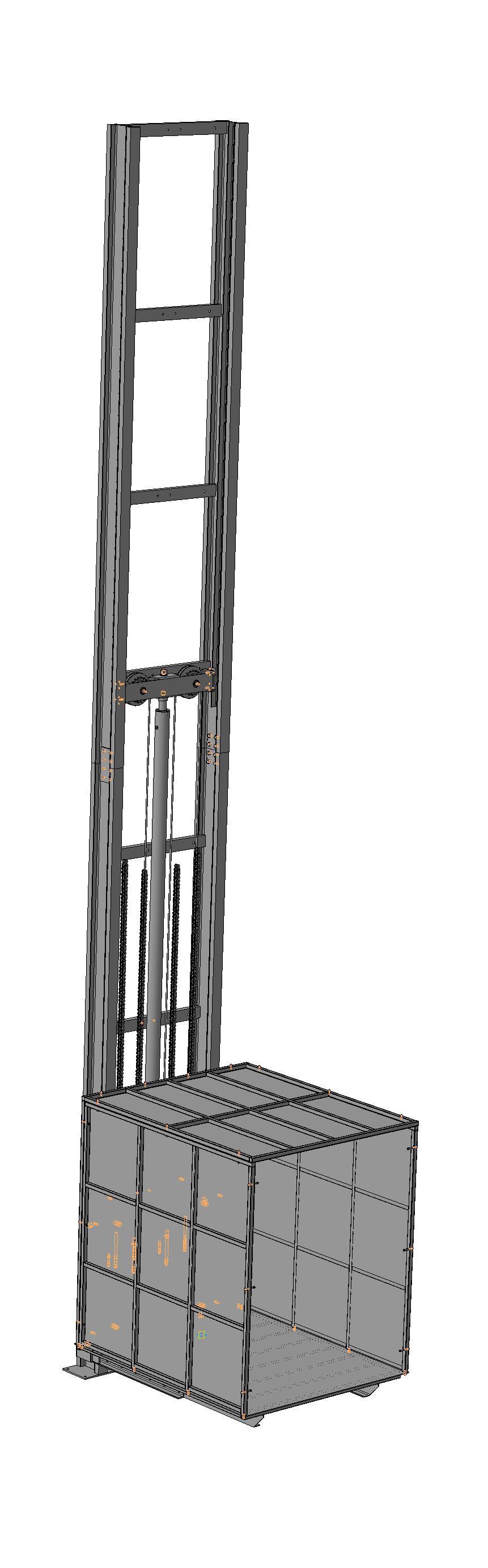 Лифт грузовой 2000кг