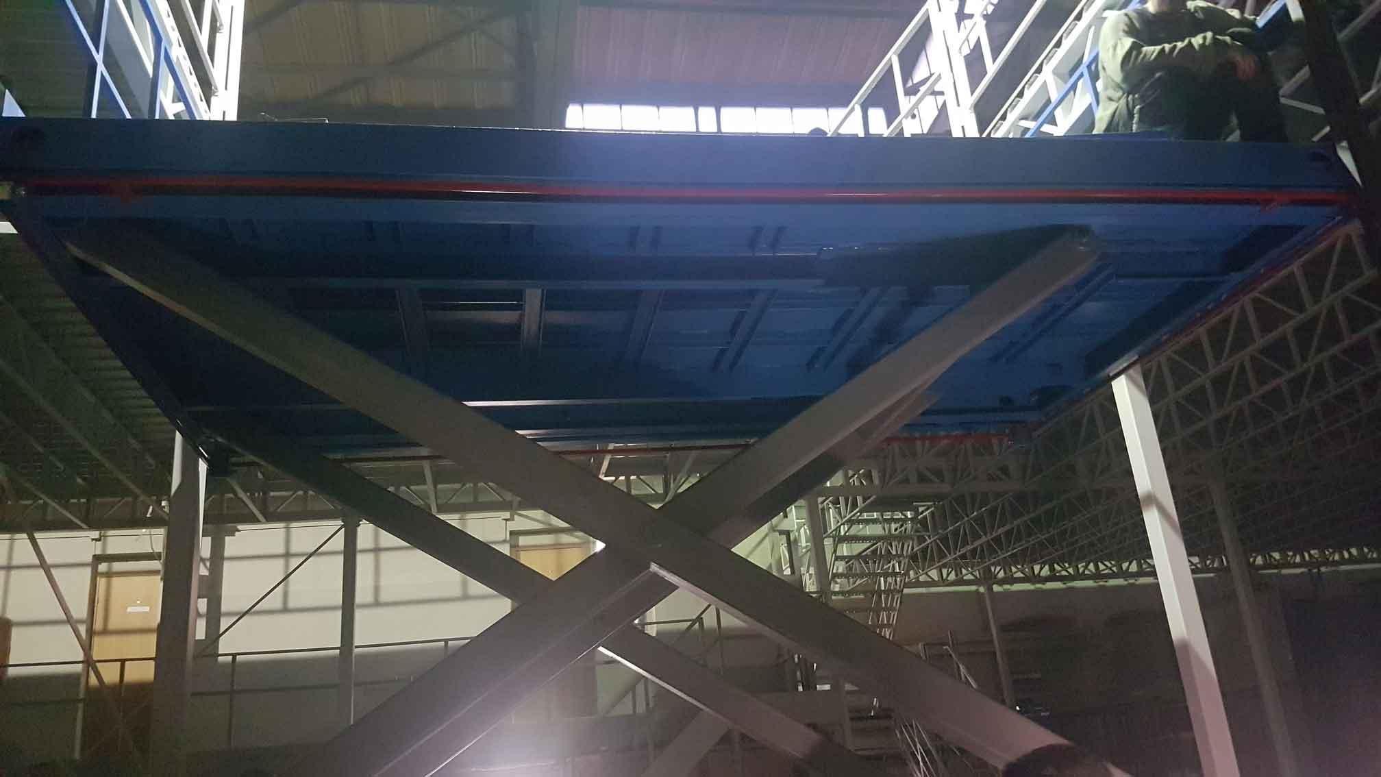 Ножничные подъёмные столы и платформы