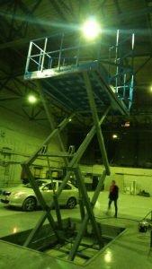 Подъёмная платформа GtS