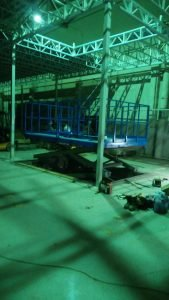 Подъёмная платформа для грузов