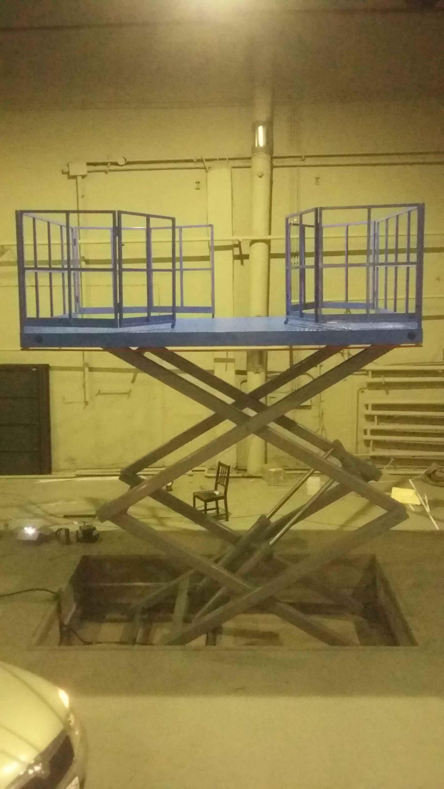 Подъёмные столы и платформы