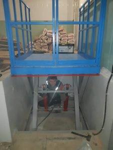 Подъёмный ножничный стол в Курске