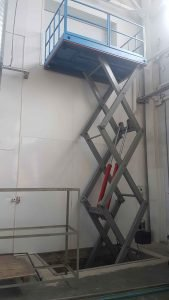 платформа подъемная вертикального перемещения