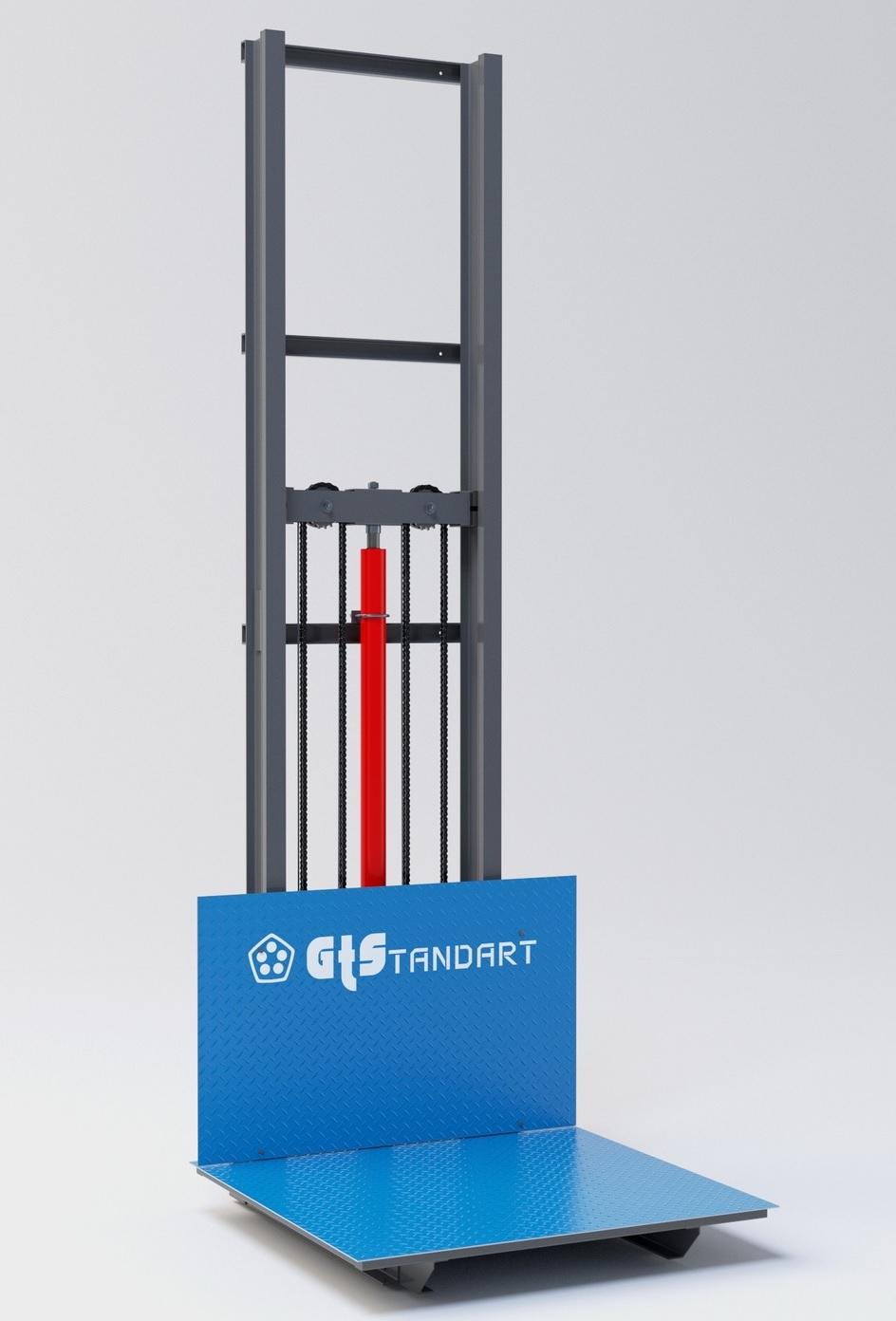 Консольный гидравлический подъёмник
