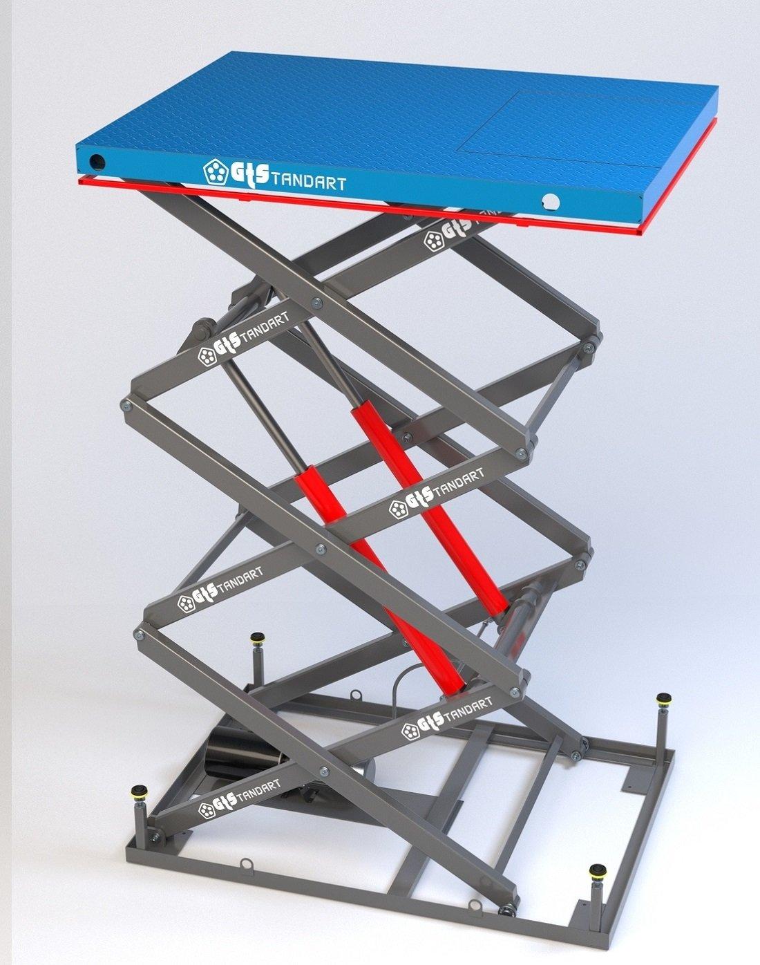 Стоимость подъёмной ножничной платформы