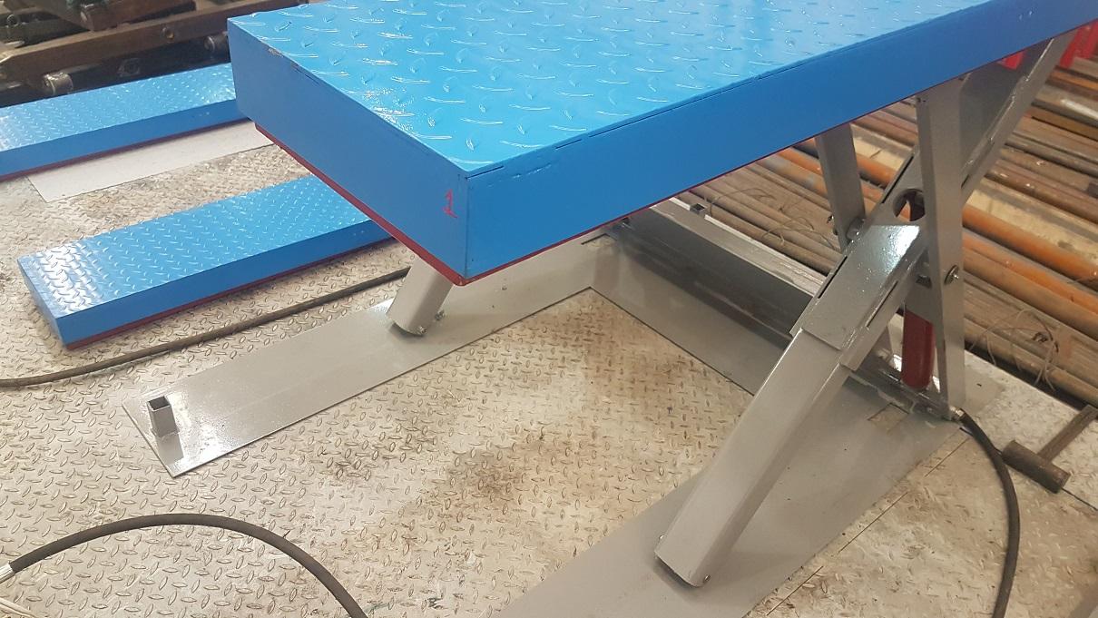 гидравлические подъемные тележки столы